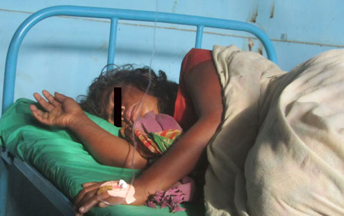 Woman Thrashed in Nepal for Witchcraft