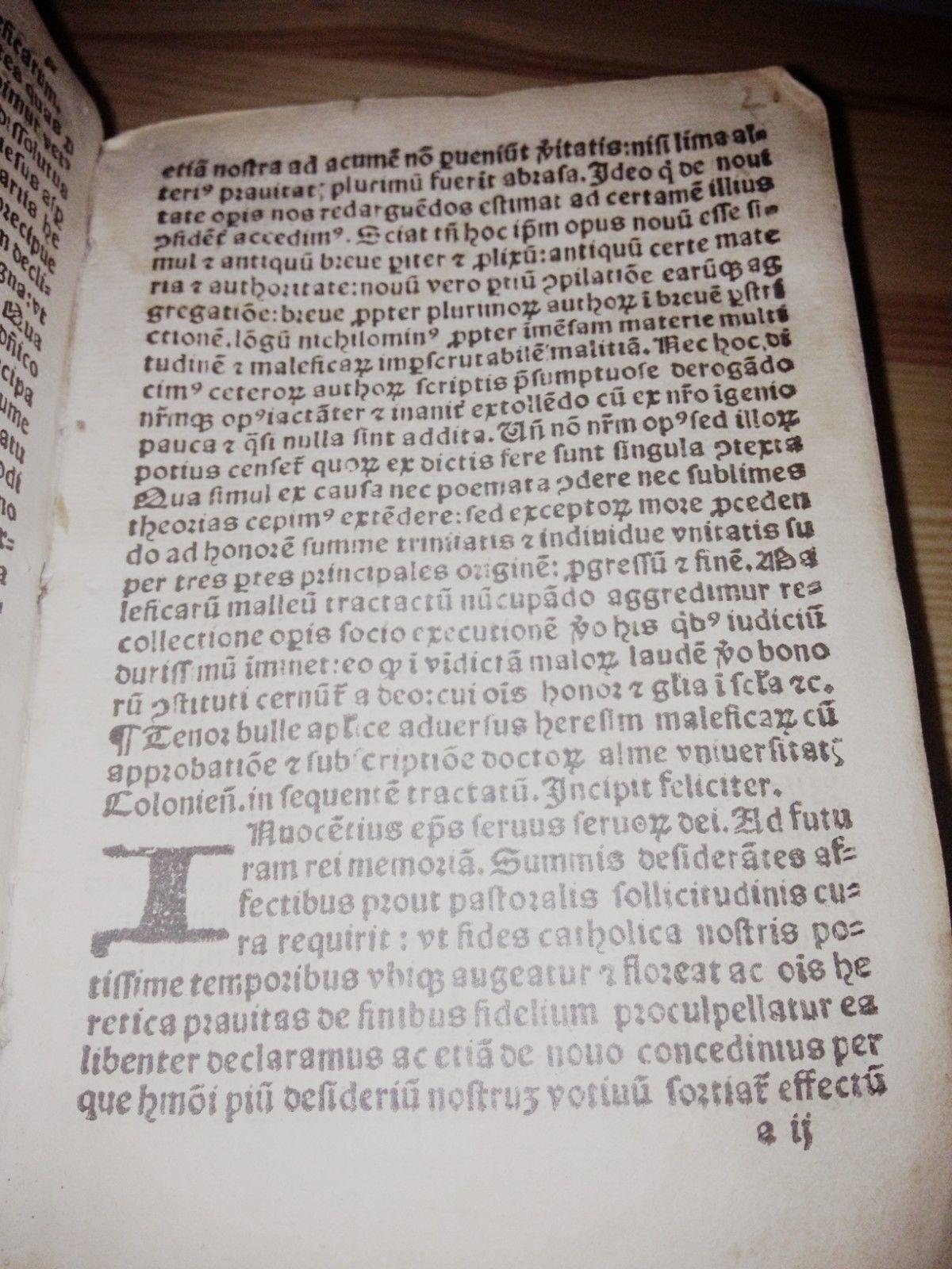1535 Edition of the Malleus Maleficarum For Sale